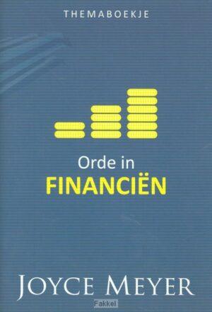 product afbeelding voor: Orde in financien