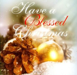 product afbeelding voor: Have a blessed christmas
