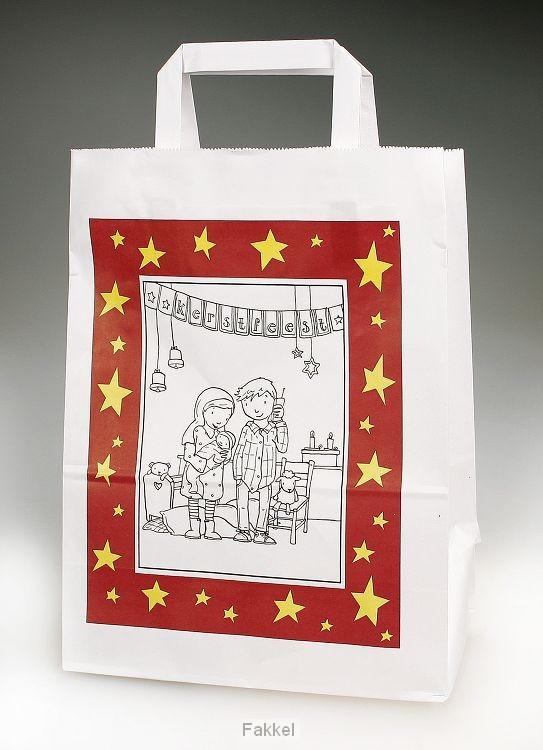 product afbeelding voor: Kersttasje