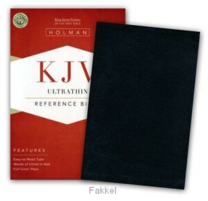 product afbeelding voor: KJV bible ultrathin reference black