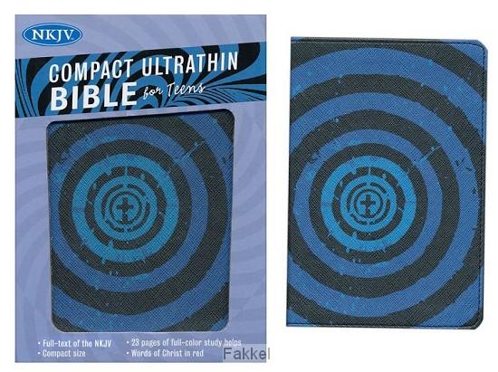product afbeelding voor: NKJV compact iltrathin bible for teens