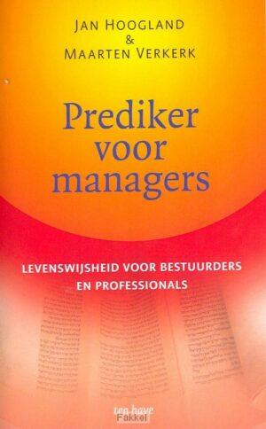 product afbeelding voor: Prediker voor managers