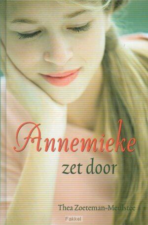 product afbeelding voor: Annemieke zet door