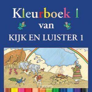 product afbeelding voor: Kijk en luister kleurboeken deel 1