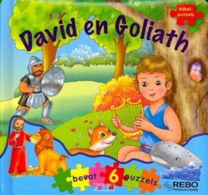 product afbeelding voor: David en goliath bijbelpuzzelboek