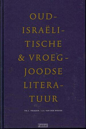 product afbeelding voor: Oudisraelitische vroegjoodse literatuur