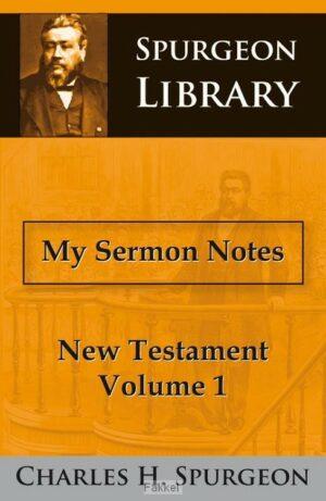 product afbeelding voor: My sermon notes nt 1
