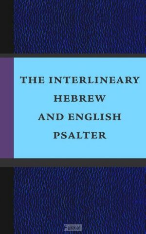 product afbeelding voor: Interlineary hebrew/english psalter POD