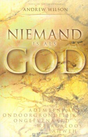 product afbeelding voor: Niemand is als God