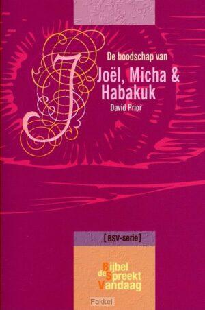 product afbeelding voor: Boodschap van joel micha en habakuk