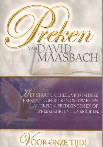 product afbeelding voor: Preken 1 van david maasbach