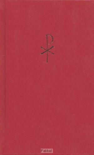 product afbeelding voor: Liedboek groot rood harde band kleursnee