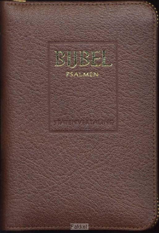 product afbeelding voor: Bijbel stv mic 612812+psalmen 12gez br l