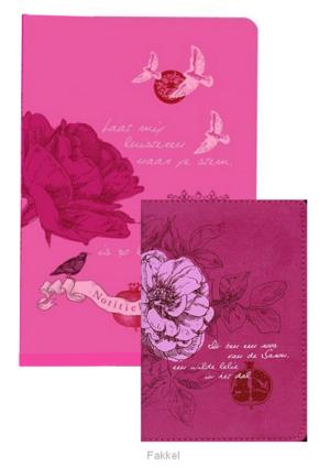 product afbeelding voor: Bijbel NBV roze + notitieboek