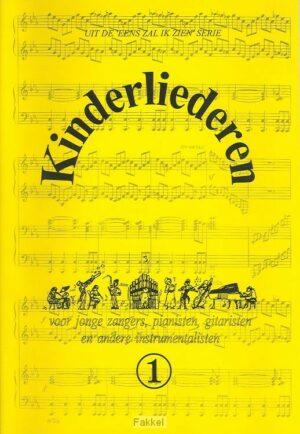 product afbeelding voor: Kinderliederen 1 muziekboek