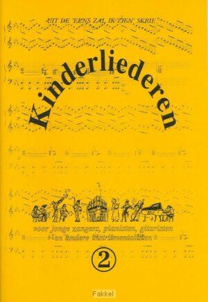 product afbeelding voor: Kinderliederen 2 muziekboek