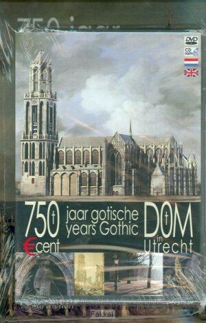 product afbeelding voor: 750 jaar Dom en rondom + cd + dvd
