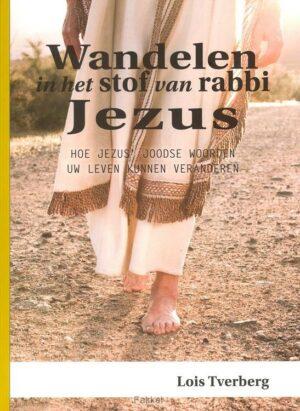 product afbeelding voor: Wandelen in het stof van rabbi Jezus