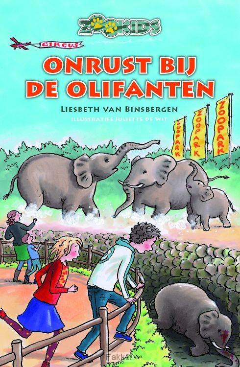 product afbeelding voor: Onrust bij de olifanten