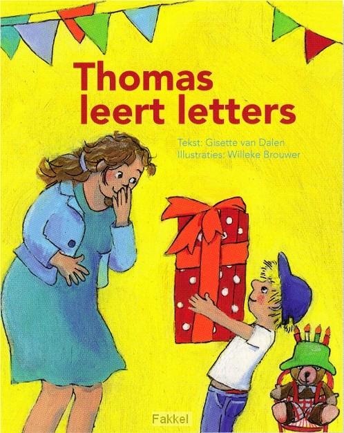 product afbeelding voor: Thomas leert letters