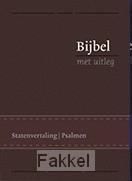 product afbeelding voor: Bijbel bmu middel bruin flex goud