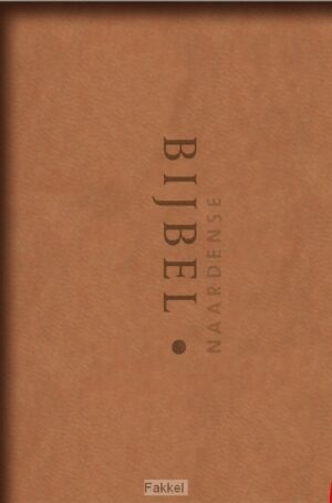 product afbeelding voor: Naardense bijbel vivella zandkleurig