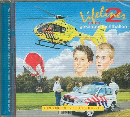 product afbeelding voor: Lifeliner 2 en de gekaapte LUISTERBOEK