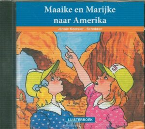 product afbeelding voor: Maaike en m. naar amerika LUISTERBOEK