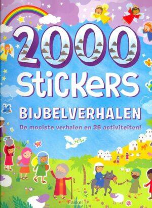 product afbeelding voor: 2000 stickers Bijbelverhalen