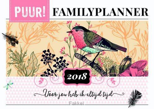product afbeelding voor: Puur! Familyplanner 2018