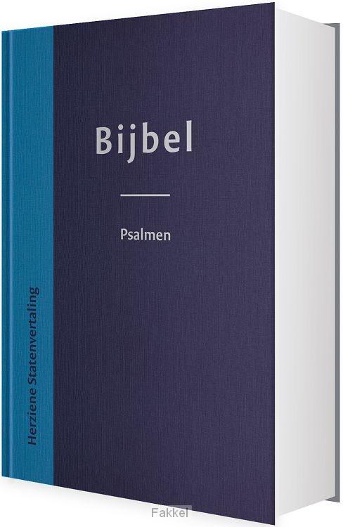 product afbeelding voor: Bijbel met psalmen hsv hardcover 12x18cm