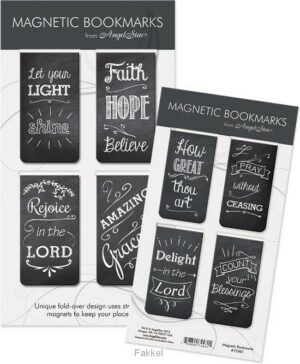product afbeelding voor: Magnetic Bookmarks chalkboard messages