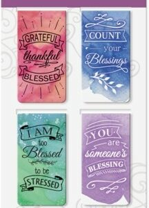 product afbeelding voor: Magnetic bookmark blessed set4