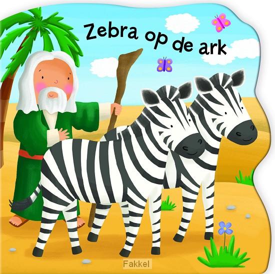 product afbeelding voor: Zebra op de ark