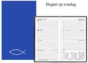 product afbeelding voor: Zak agenda ichtus 2018