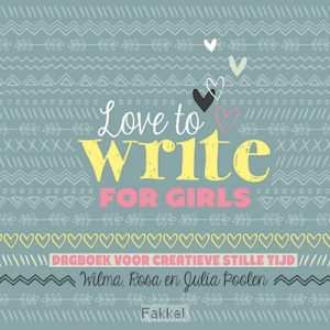 product afbeelding voor: Love to write for girls