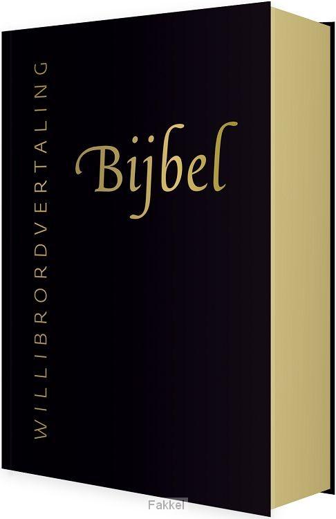 product afbeelding voor: Bijbel willibrord zwart leer goudsnee