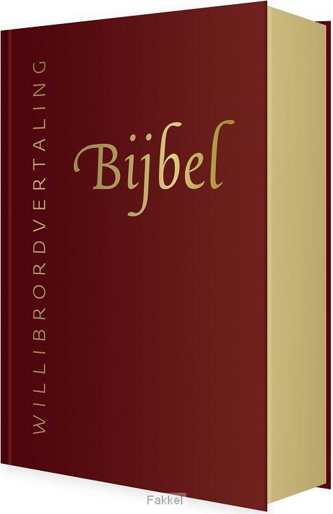 product afbeelding voor: Bijbel willibrord rood leer goudsnee
