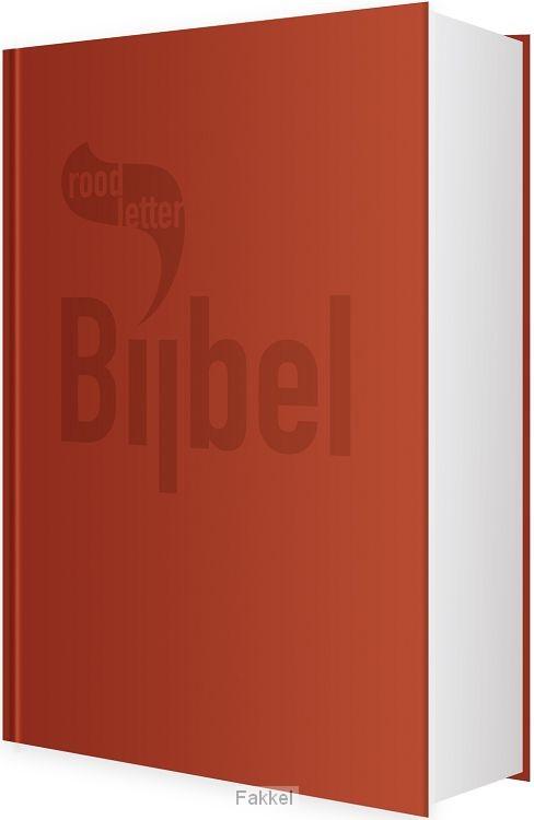 product afbeelding voor: Roodletterbijbel
