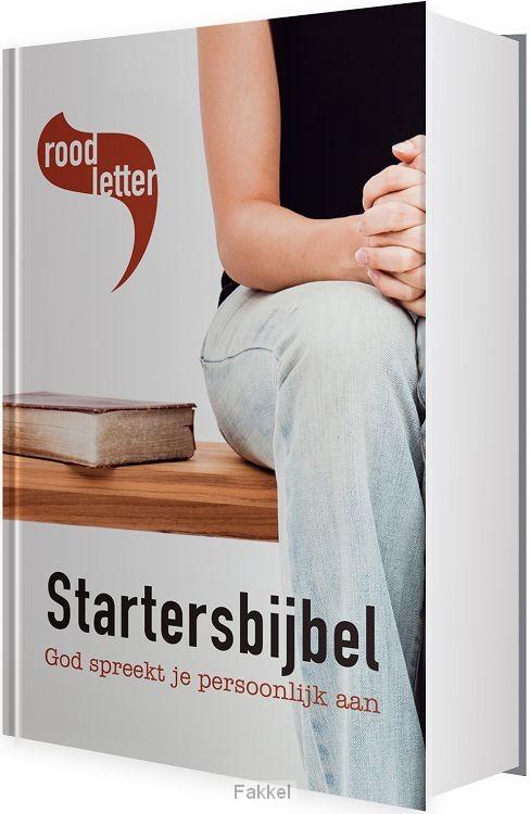 product afbeelding voor: Startersbijbel rood letter