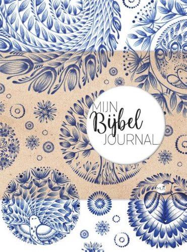 product afbeelding voor: Mijn bijbel journal blauw