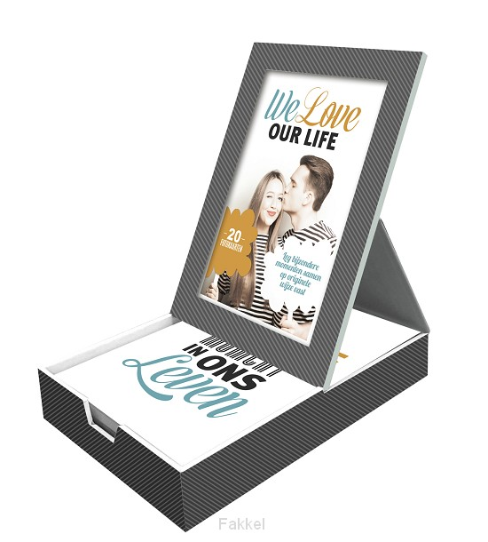 product afbeelding voor: We love our life fotokaarten