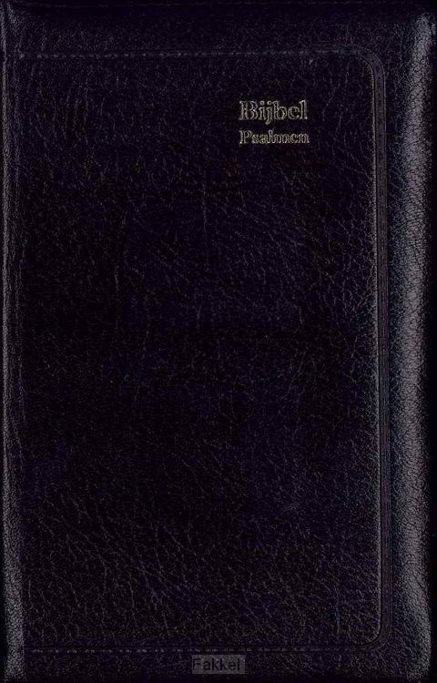 product afbeelding voor: Majorbijbel 614501 sv zwart ps 12g ritm