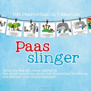 product afbeelding voor: Paasslingerkaarten 7 stuks