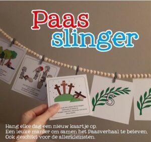 product afbeelding voor: Paasslinger incl. kralenslinger