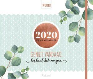 product afbeelding voor: Puur! Familyplanner 2020