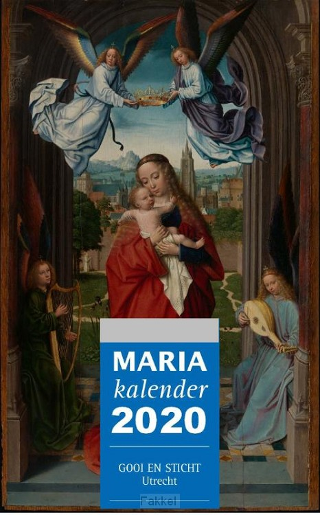 product afbeelding voor: Mariakalender 2020 blok en schild set 3