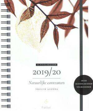 product afbeelding voor: Vrolijk schoolagenda 2019/2020