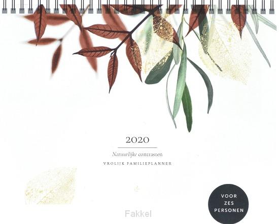 product afbeelding voor: Vrolijk familieplanner 2020