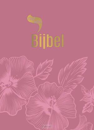 product afbeelding voor: Roodletterbijbel design bloemen